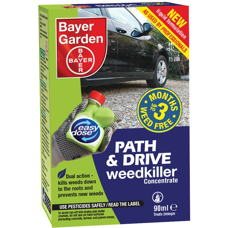 Bayer - Path & Drive Weedkiller Concentrate 90ml