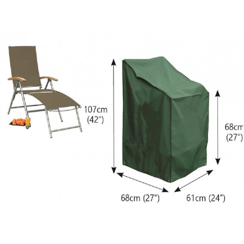 Bosmere C570 - Cover up Stacking/Reclining Chair Cover