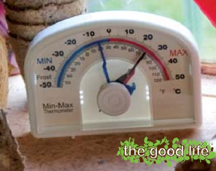Dial Max/Min Thermometer